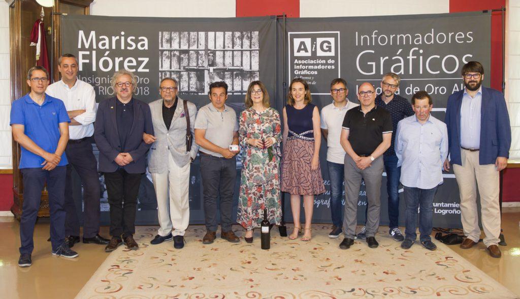 Marisa Flórez Insignia de Oro AIG