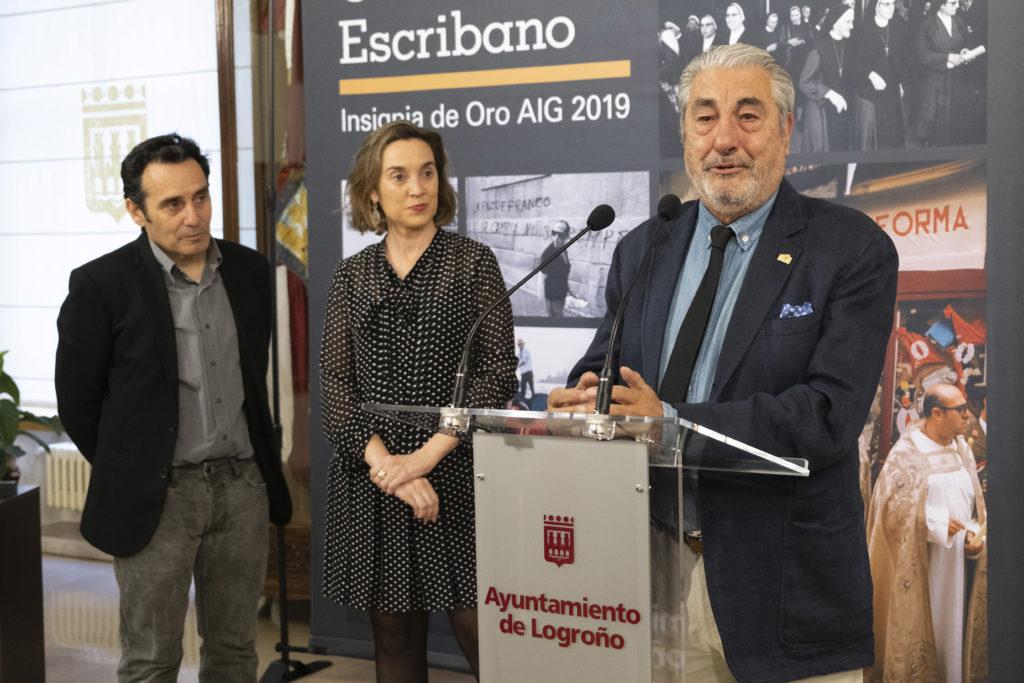 César Lucas Insignia de Oro 2019